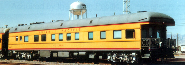 Business Car Photo Indexes Union Pacific 100 150